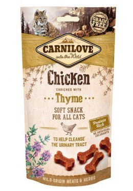 Carnilove Cat Snack Fresh Soft Chicken+Thyme 50g