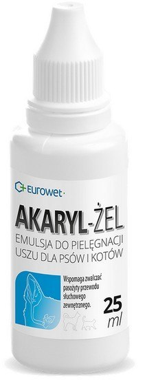 Akaryl żel do uszu 25ml
