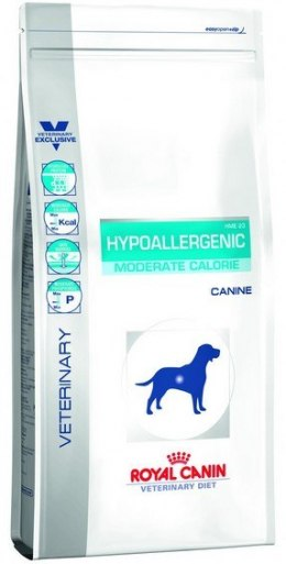 Royal Canin Veterinary Diet Canine Hypoallergenic Moderate Calorie 7kg