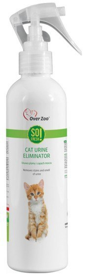 Over Zoo So Fresh! Urine Eliminator Cat - neutralizuje mocz kotów 250ml