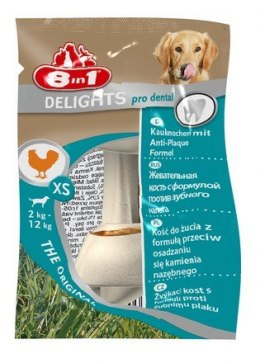 8in1 Dental Delights Bones XS