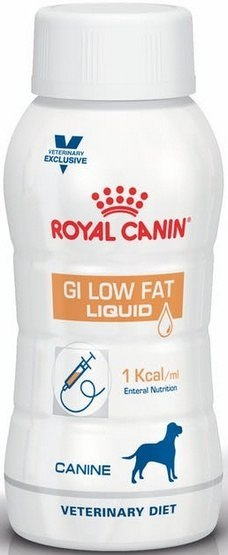 Royal Canin Veterinary Diet GI low Fat Liquid 200ml