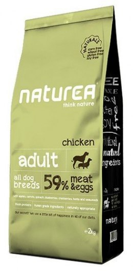 Naturea Dog Naturals Adult Kurczak 2kg